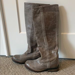 Steve Madden tall distressed boots - 7 1/2